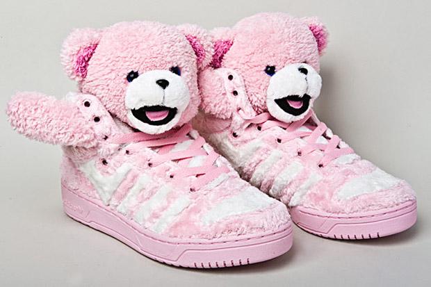 Jeremy Scott x adidas Originals  Teddy Bears  Brown  3aa0b0667ef7